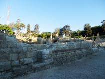 walls of the roman theatre