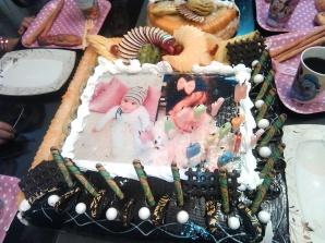 Honoree` s cake