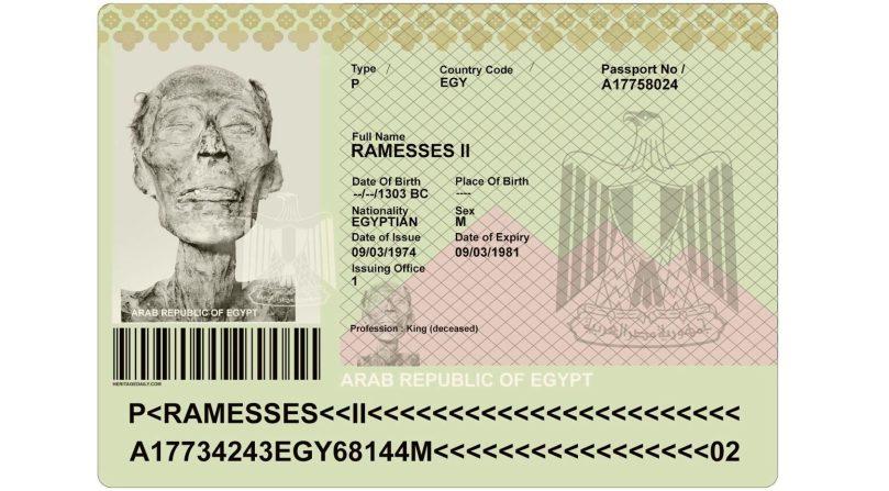 passport ramesses